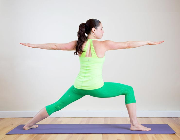 Warrior Pose Yoga